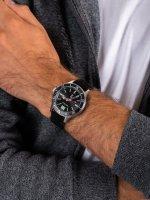 Zegarek srebrny klasyczny  Nautica N-83 NAPABF916 pasek - duże 5