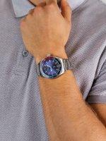 Zegarek srebrny klasyczny  Nautica N-83 NAPFWS004 bransoleta - duże 5
