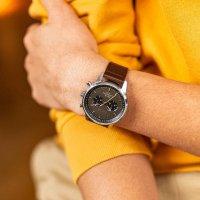 Zegarek srebrny klasyczny  Nevil NEST114-CL110412 bransoleta - duże 10