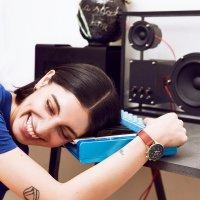 Zegarek srebrny klasyczny  Nikki NKST104-SS110217 pasek - duże 8