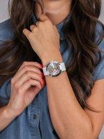Zegarek srebrny klasyczny  Pasek W1059L1 pasek - duże 5