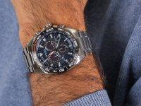 Citizen CB5034-82L zegarek srebrny klasyczny Radio Controlled bransoleta