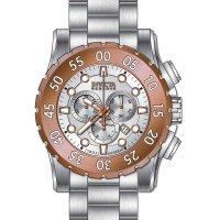 Zegarek srebrny klasyczny  Reserve 1958 bransoleta - duże 6
