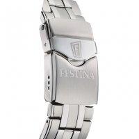 Zegarek srebrny klasyczny  Sport F20461-4 bransoleta - duże 7