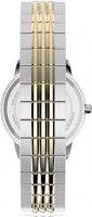 Timex TW2U08500 zegarek srebrny klasyczny Standard bransoleta