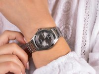 Zegarek srebrny klasyczny  Titanium FE6150-85H bransoleta - duże 6