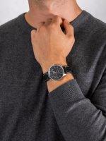 Zegarek srebrny klasyczny  Waterbury TW2R25500 pasek - duże 5