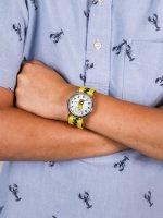 Zegarek srebrny klasyczny  Weekender TW2R41100 pasek - duże 5