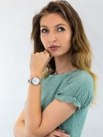 Zegarek srebrny klasyczny Adriatica Bransoleta A3572.5G4FQ pasek - duże 4
