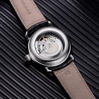 Zegarek srebrny klasyczny Aerowatch 1942 A-68900-AA03 pasek - duże 5