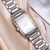 Zegarek srebrny klasyczny Aerowatch Intuition A-49988-BI03-M bransoleta - duże 5