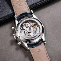 Zegarek srebrny klasyczny Aerowatch Les Grandes Classiques 61989-AA04-SQ pasek - duże 5
