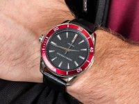 Zegarek srebrny klasyczny Armani Exchange Fashion AX1836 pasek - duże 6