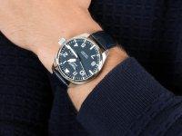 Zegarek srebrny klasyczny Aviator Airacobra V.1.22.0.149.4 pasek - duże 6