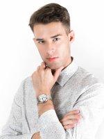 Zegarek srebrny klasyczny Ball Fireman NM2088C-S2J-WHBK bransoleta - duże 4