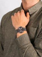 Zegarek srebrny klasyczny Bering Classic 14240-308 bransoleta - duże 5