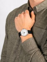 Bisset BSCE84SASB05AX męski zegarek Klasyczne pasek