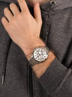 Zegarek srebrny klasyczny Casio EDIFICE Momentum EFV-580D-7AVUEF bransoleta - duże 5