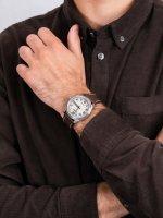 Zegarek srebrny klasyczny Citizen Ecodrive BM8530-11XE pasek - duże 5