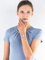 Zegarek srebrny klasyczny Citizen Ecodrive EM0681-85D bransoleta - duże 4