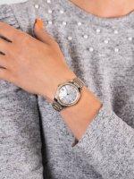 Zegarek srebrny klasyczny Citizen Ecodrive EO1184-81D bransoleta - duże 5