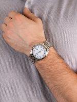 Zegarek srebrny klasyczny Citizen Elegance BM7108-81A bransoleta - duże 5
