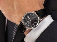 Citizen BM8241-01EE zegarek srebrny klasyczny Leather pasek