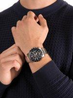 Zegarek srebrny klasyczny Citizen Radio Controlled AT8124-91L bransoleta - duże 5