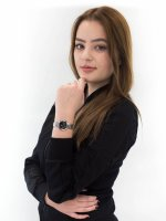 Zegarek srebrny klasyczny Citizen Radio Controlled EC1170-85E bransoleta - duże 4