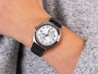 Zegarek srebrny klasyczny Citizen Titanium FE6150-18A pasek - duże 6