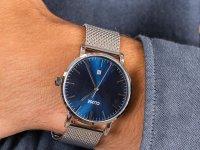Zegarek srebrny klasyczny Cluse Aravis CW0101501004 bransoleta - duże 6