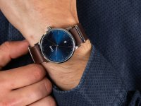 Zegarek srebrny klasyczny Cluse Aravis CW0101501008 pasek - duże 6