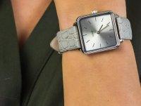 Zegarek srebrny klasyczny Cluse La Tetragone CL60018 pasek - duże 6