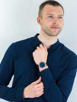 Zegarek srebrny klasyczny Cluse Vigoureux CW0101503001 pasek - duże 4