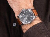 Zegarek srebrny klasyczny Diesel D-48 DZ1910 pasek - duże 6