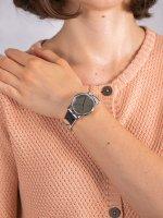 Zegarek srebrny klasyczny DKNY Pasek NY2803 pasek - duże 5
