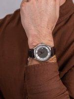 Zegarek srebrny klasyczny Doxa Challenge 216.10.122R.02 pasek - duże 5