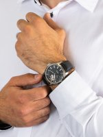 Zegarek srebrny klasyczny Epos Sophistiquee 3424.183.20.15.25 pasek - duże 5