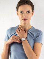 Zegarek srebrny klasyczny Esprit Damskie ES1L056M0045 bransoleta - duże 4