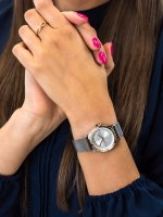 Zegarek srebrny klasyczny Esprit Damskie ES1L116M0105 bransoleta - duże 5