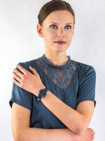 Zegarek srebrny klasyczny Festina Ceramic F20473-2 pasek - duże 4