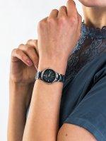 Zegarek srebrny klasyczny Festina Ceramic F20474-3 bransoleta - duże 5
