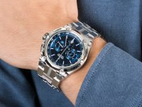 Zegarek srebrny klasyczny Festina Chrono Bike F20327-3 bransoleta - duże 6