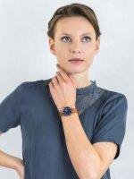 Zegarek srebrny klasyczny Fossil Copeland ES4913SET pasek - duże 4