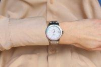 Zegarek srebrny klasyczny Fossil FB-01 ES4741 bransoleta - duże 10