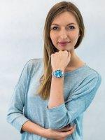 Zegarek srebrny klasyczny Fossil FB-01 ES4742 bransoleta - duże 4