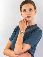 Zegarek srebrny klasyczny Fossil Tailor ME3166 bransoleta - duże 4