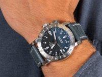 Zegarek srebrny klasyczny Glycine Airman GL0060 pasek - duże 6