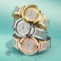 Guess W1288L1 Damskie klasyczny zegarek srebrny
