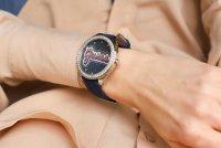Zegarek srebrny klasyczny Guess Pasek W1276L1 pasek - duże 9